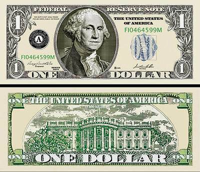 $5 Poker Play Money Five Dollar Bill Fake Funny Money Novelty Note FREE SLEEVE