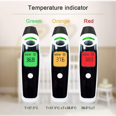 Medical Ear Thermometer and Forehead Thermometers Baby Digital Thermometer(Black