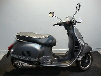 2013 Piaggio Vespa Gts300 Gts Grey Supersport Nationwide Delivery Available