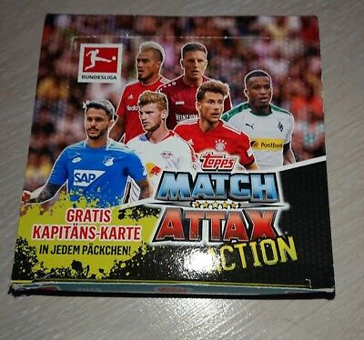 topps Match Attax Action 2018/2019 1 Display