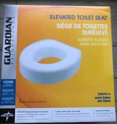 Medline - Guardian Signature - Elevated Toilet Seat NIB