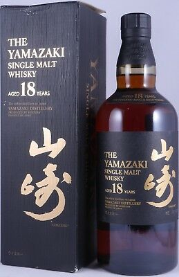 Yamazaki 18 Years Individual Numbered Bottling Japan Import Whisky 43,0% - RARE!