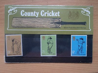 GB 1973 County Cricket Presentation Pack 51 Elizabeth II 1952-