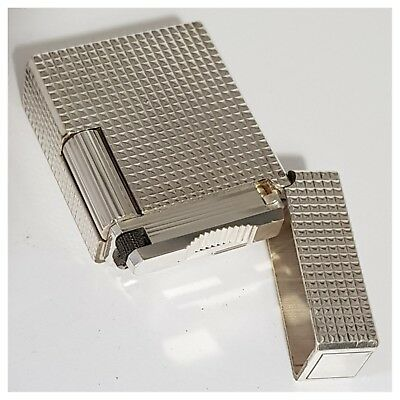Briquet gaz* St Dupont Paris + carte *pointe diamant-Lighter-Feuerzeug-Accendino