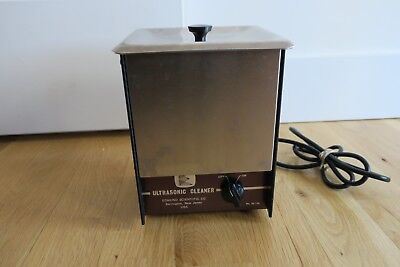 Edmund Scientific  Ultrasonic Cleaner Stainless Table top Watts With Lid T-9