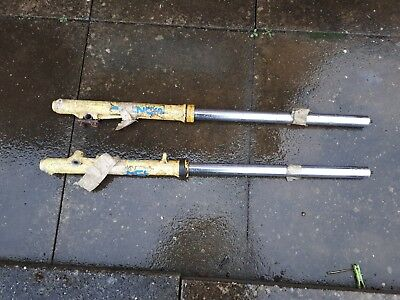 Suzuki RM125 RF12A  motocross  front forks  (1986 Ish)