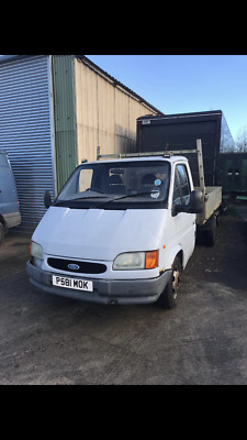 Ford Transit Tipper Smiley Face Spares Or Repair