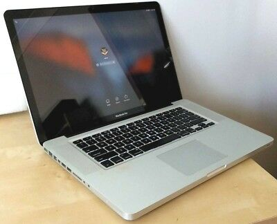 "Apple Macbook Pro 8,2 excellent Intel Quad Core i7, MS Office, 15.4"" laptop"