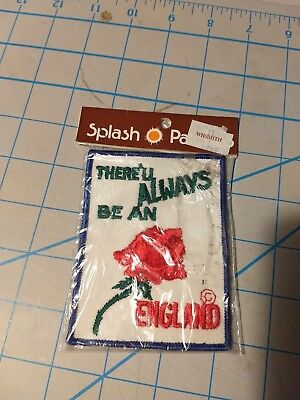 Splash Patches There'll Always Be An England LONDON Rose England Patch 0816