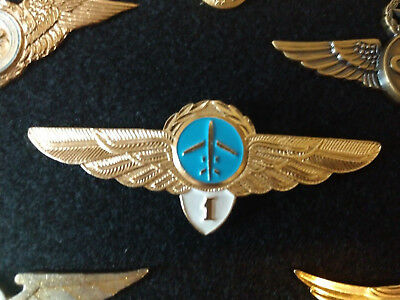 AEROFLOT Soviet  Airlines Pilot Wings Captain. TODAY ONLY 15% with ebay coupon