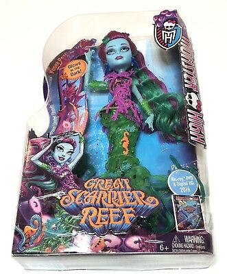 Monster High Great Scarrier Reef Down Under Ghouls Posea Reef Doll New In Pack