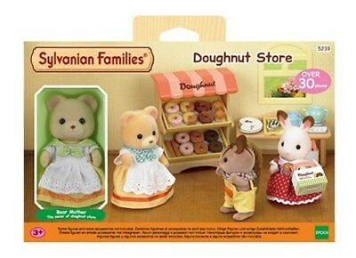 NEW Sylvanian Families Doughnut Store from Purple Turtle Toys