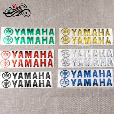 Fuel Gas Tank Fairing Pad Motorcycle Emblem Decal Stickers For Yamaha YZF MT FZ