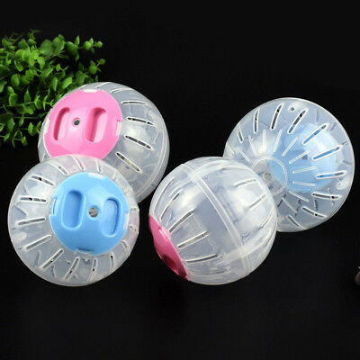 Hamster Guinea Pig Exercise Running Ball Play Gyro Toy Plastic Pets Funny Gifts