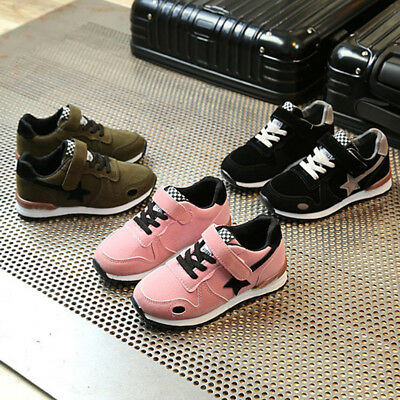 746efbcfd7db99 Toddler Kids Sport Running Baby Shoes Boys Girls Star Mesh Rubber Shoes  Sneakers