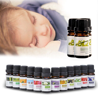 100% Pure Natural Essential Oils Aroma Therapy 10ml (35 Varieties) For Diffuser