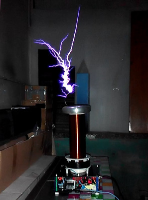 SSTC Half Bridge Solid State Tesla Coil 220V w/ Arc And Drive Play Music DS07