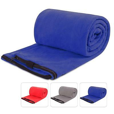 REDCAMP Fleece Sleeping Bag Liner for Adult Camping or Indoor Used