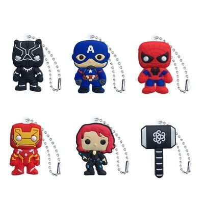 50-100PCS Avengers Kids Ball Chains Multi-function Decorations Party Small Gift