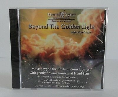 """Hemi-Sync By Monroe Products Beyond The Golden Light """"NEW FACTORY SEALED"""""""