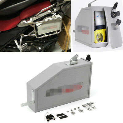Mini Aluminum Tool Box Left Mount Case For BMW R1200GS LC ADVENTURE 2014-2018 1x