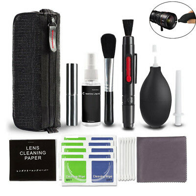 10 in 1 Professional Lens Cleaning Kit For Canon/Nikon/Sony LG DSLR Camera Hot