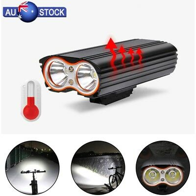 T6 Super Bright MTB Waterproof Bike Cycling LED Front Light USB Rechargeable AU
