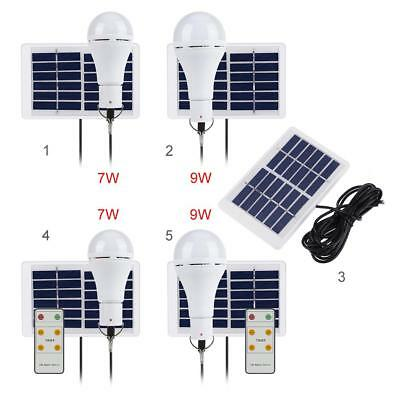 20 COB LED Solar Light USB Rechargeable Hanging Bulb Lamp for Outdoors Camping