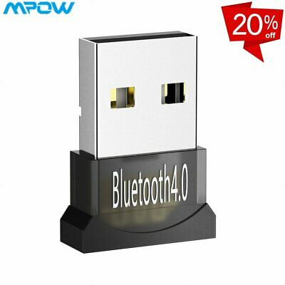 Mpow 2 in 1 Bluetooth Receiver + Transmitter Wireless AUX Adapter Dongle USB