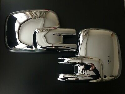 Chrome Wing Mirror Covers For Vw Transporter T4 Caravelle Bus Multivan 1990-2003