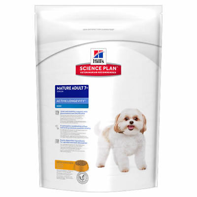 Hill's Science Plan Canine Dog Mature Adult 7+ Active Longevity Mini Chicken