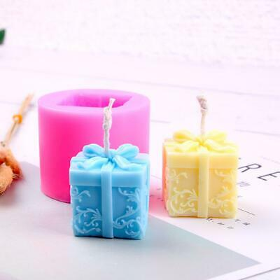Silicon Candle Mould Aroma Candle Gypsum Mold for DIY Soap Making Xmas Gift