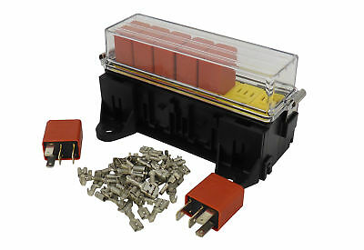 MTA 7 Way Relay Box holder for Micro Relays