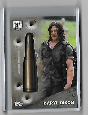 Topps The Walking Dead  Daryl Dixon season 7 Authentic show relic #BR-DD 06/75