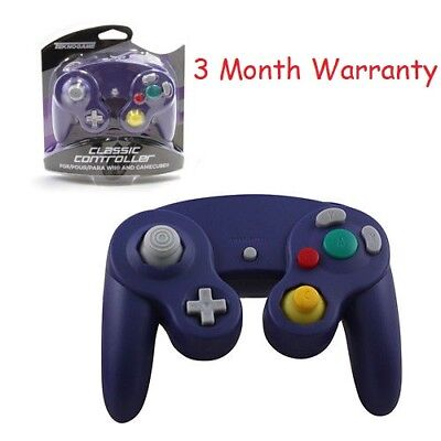 New Controller Pad For Nintendo Gamecube Gc Wii Purple