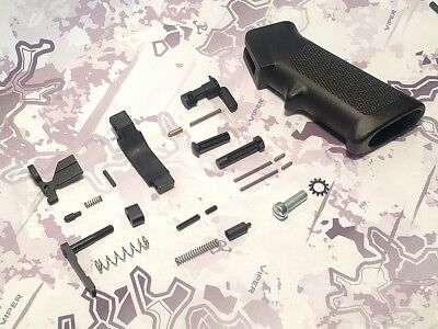 High Quality Mil-Spec 223 Lower Parts (LPK) w/ Poly Trigger Guard US Made NO FCG