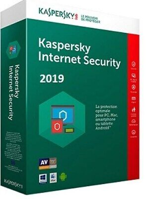 Kaspersky Lab Internet Security 2019 5 Devices 1 Year MSB