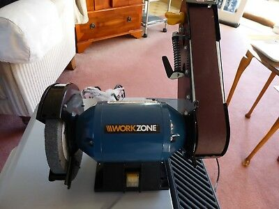 Brilliant Workzone Branded Bench Grinder And Belt Sander 240W New And Beatyapartments Chair Design Images Beatyapartmentscom