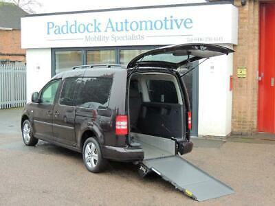 Volkswagen Caddy Maxi Life 1.6TDi Disabled Wheelchair Adapted Vehicle WAV