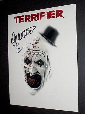 "Terrifier  / David Howard Thornton  / ""art The Clown"" /  Scooby Doo  /  Photo #5"