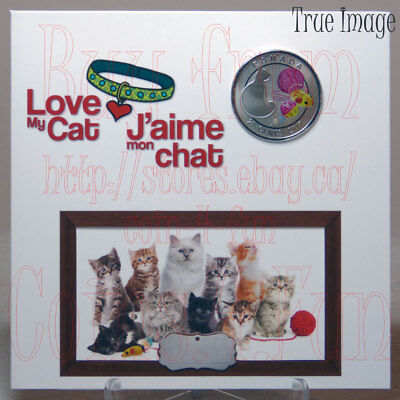 2017 - Love My Cat - 25-cent Coin Gift Set - Canada