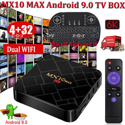 2019 H96 Max 4+64GB DDR4 Smart TV Box Android 8.1 S905X2 Quad Core WIFI 4K Media