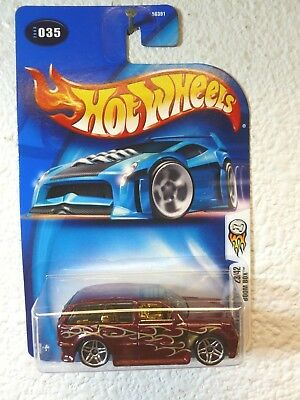 Diecast & Toy Vehicles 2003 Hot Wheels #35 First Edition #23 Boom Box blue 0711 card