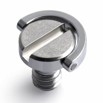 """1/4"""" Screw with D Ring for Camera Tripod / Monopod / Quick Release Plate AZ"""