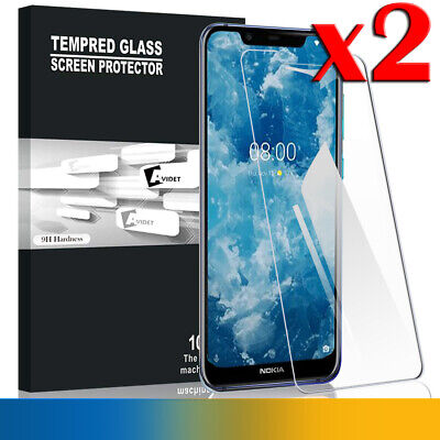 2X Nokia 8.1 Tempered Glass LCD Screen Protector Film Guard