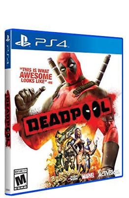 Ps4 Action-Deadpool Ps4 Neuf