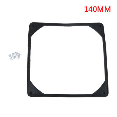 140mm PC case fan anti vibration gasket silicone shock proof absorption pad HT