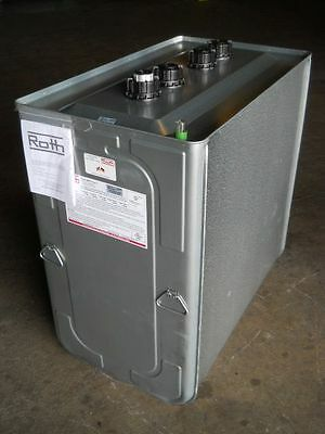 NEW Out-of-Box Roth 1000 LH 275 gallon Heating Oil Tank with Dent