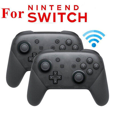 Bluetooth Wireless Pro Controller Gamepad Handle For Nintendo Switch Console TS