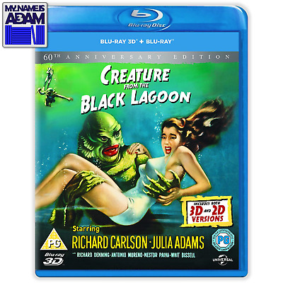 CREATURE FROM THE BLACK LAGOON Blu-ray 3D + 2D (REGION FREE)